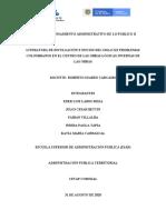 TRABAJO DE PENSAMIENTO ADMINISTRATIVO DE LO PUBLICO II