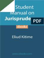 A Student Manual on Jurisprudence