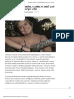 Almudena Guzmán, contra el mal que surge solo - Diario16 (ENTREVISTA)