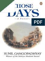 Sunil Gangopadhyay - Those Days_ A Novel-Penguin Books Ltd (2000).pdf
