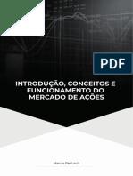 Apostila - Introdução, Conceitos e Funcionamento do Mercado de Ações