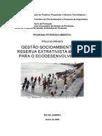 GESTÃO SOCIOAMBIENTAL DE RESEX