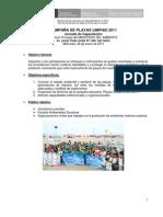 Programa Capacitación Jóvenes Promotores Playas 2011