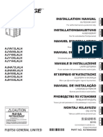 VRF AIRSTAGE-INSTALLATION MANUAL