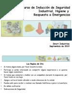 Curso Induccion Seguridad, Higiene y Respuesta a Emergencias