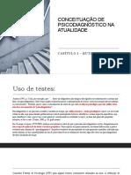 Cap. 1 Hutz CONCEITUAÇÃO DE PSICODIAGNÓSTICO NA ATUALIDADE (1)
