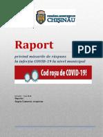 Raport COVID19 (ianuarie-mai 2020)
