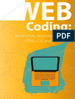 Web Coding - A beginner's guide to HTML, CSS and JavaScript - Updated!