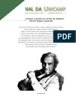 Michel Deguy - entrevista sobre poesia