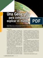 Una geografía para comprender el mundo
