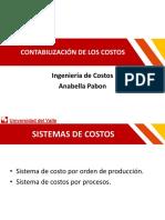 ASIGNACIÓN DE COSTOS