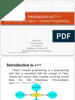 Unit I – Introduction to C++.pptx