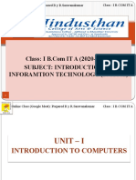 01.09.20 -Class 1  - I B.COM IT A - INTRODUCTION TO COMPUTERS.ppsx