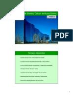 Criterios de Diseño y Cálculo de Muros Cortina