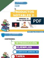 SEMANA (19) PRODUCTOS NOTABLES II