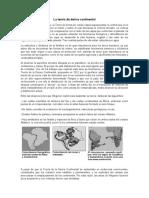 La teoría de deriva continental.docx