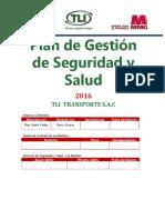 PASSO 2016 TLI Transporte S.A.C