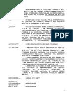 11-09-2020 Solicitud Permiso Autorizacion Para Citar Accionados y Enmendar Accion de Amparo Contra GSM, SRL, Fernando Sanchez Sanchez Et Al