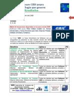 Software GBS 2020-Innovaciones