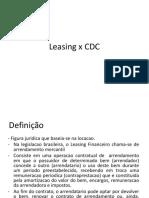 Leasing x CDC