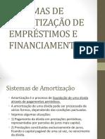 SISTEMAS DE AMORTIZAÇÃO DE EMPRÉSTIMOS E FINANCIAMENTOS_SAC