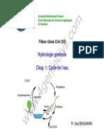 Hydraulogie générale