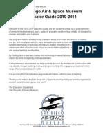 SDASM Educator Guide 2010-2011