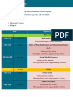 Refresher Agenda June 2020