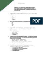 TALLER CONTROL DE MATERIAS PRIMAS