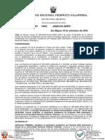 R.R. 7643-2020-MOIFICACION DEL CALENDARIO ACADÉMICO