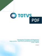 Orientações Consultoria de Segmentos - TQQZOQ - Modelo da NFA-e - Nota Fiscal Avulsa Eletrônica para escrituração na EFD - ICMS-IPI