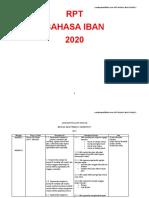 RPT BAHASA IBAN TAHUN 5 2020