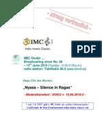 Moderation Script (06/2010)