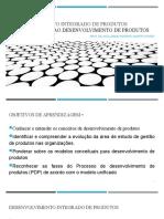 U-1 Introdução ao desenvolvimento de produtos