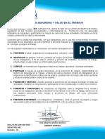 POLÍTICA DE SEGURIDAD Y SALUD EN EL TRABAJO PATSAC - MAPSAC 2.docx