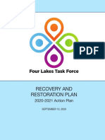 Four Lakes Task Force Recovery Restoration Plan 9.10.2020