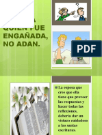 TEMA 64 - FUE EVA QUIEN FUE ENGAÑADA, NO ADAM.pptx