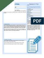 Modelo de ficha de sistematizacion de lectura a modo de Reseña