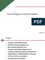 Oracle Unicode