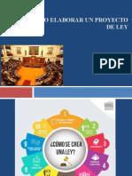 TECNICA LEGISLATIVA Proyecto de Ley 2