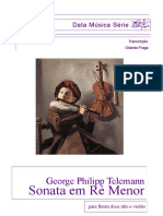 Telemann Sonata Flauta
