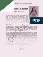 Manual para Sanidad Interior, CHICA ASE.