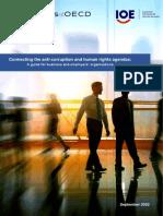 Guía para establecer sinergias entre las agendas anticorrupción y de derechos humanos en el sector privado