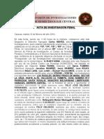 ACTA DE INVESTIGACIÓN PENAL