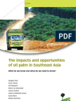 The impacts and opportunities of palm oil in Southeast Asia