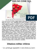 Augusto Pinochet - Ditadura no Chile