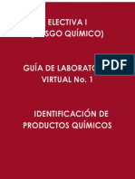 Guía  No. 4.  Identificación de productos químicos
