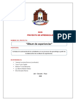 PROYECTO DE APRENDIZAJE FINAL - G1