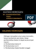 ikatan hidrogen