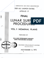 Apollo 17 Final Lunar Surface Procedures